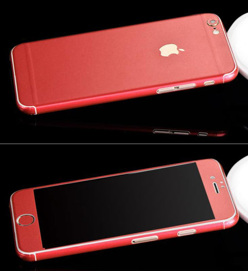 Full-Body Wrap Skins for iPhone - Red
