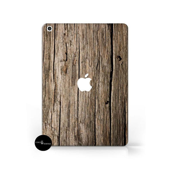 Vintage Wood iPad Skin - Coco and Toffee