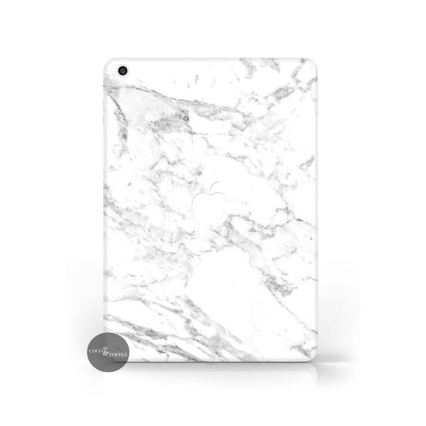 White Marble iPad Skin - Coco and Toffee