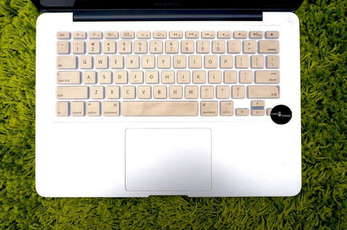 Vegas Gold Keyboard Protector - Coco and Toffee