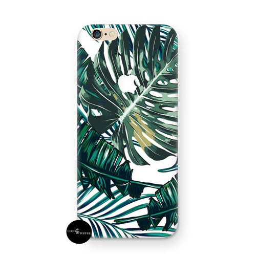 Green Tropics iPhone Skin - Coco and Toffee