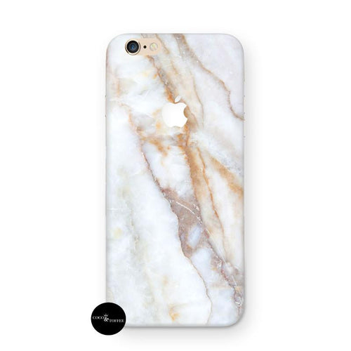 Peach Marble iPhone Skin