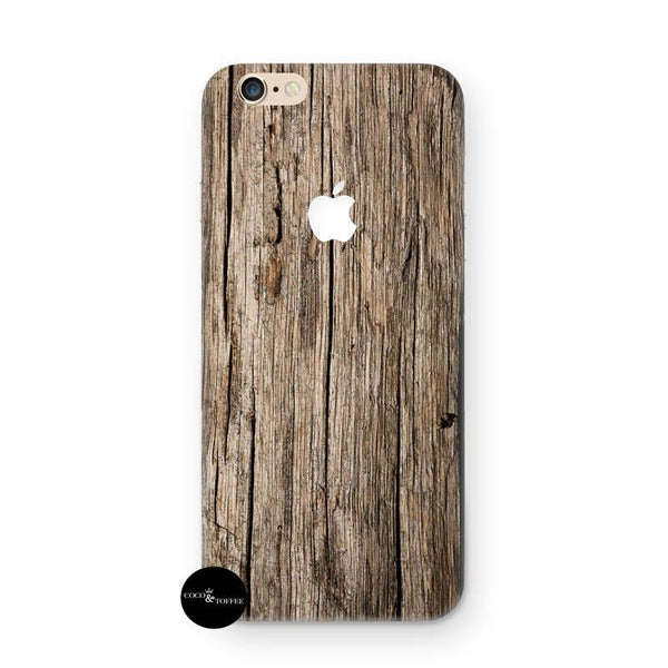 Vintage Wood iPhone Skin