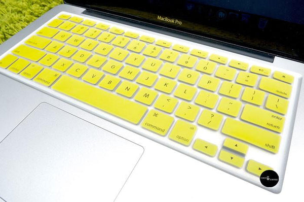 Yellow Keyboard Protector - Coco and Toffee