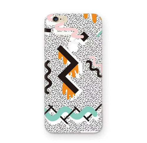 90s Doodle iPhone Skin