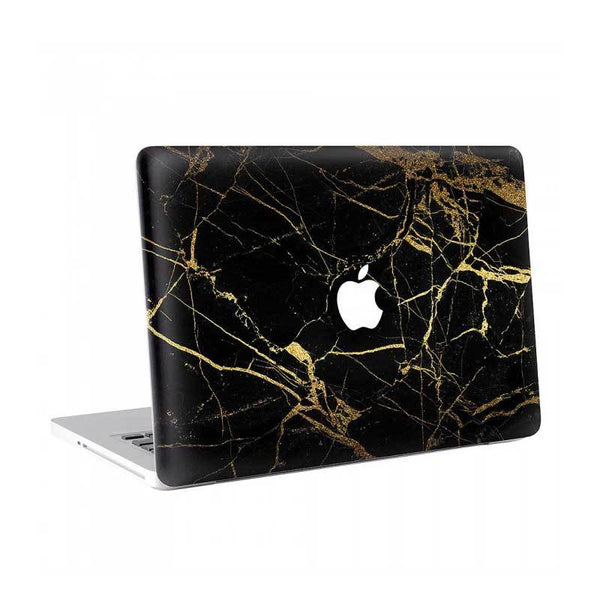 African Gold Marble MacBook Skin - Coco and Toffee