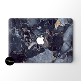Dark Blue Marble MacBook Skin - Coco and Toffee