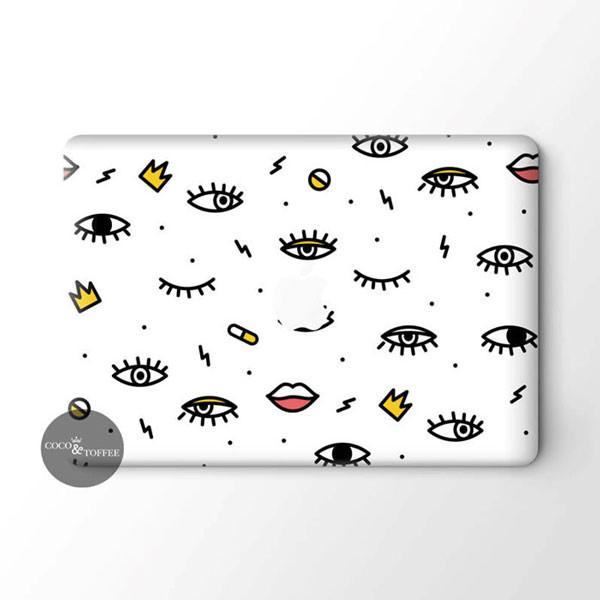 EyeSeeYou MacBook Skin - Coco and Toffee