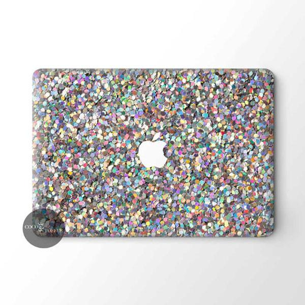 Glitter Bomb MacBook Skin