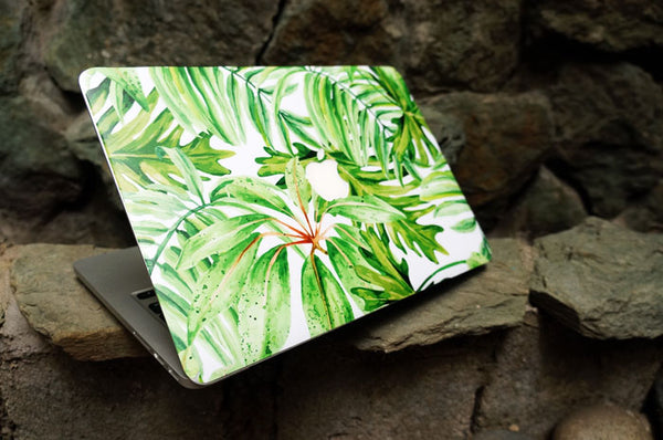 Green Foliage MacBook Skin - Coco and Toffee
