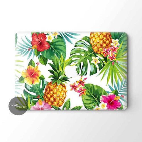 Hawaiian Jungle MacBook Skin - Coco and Toffee