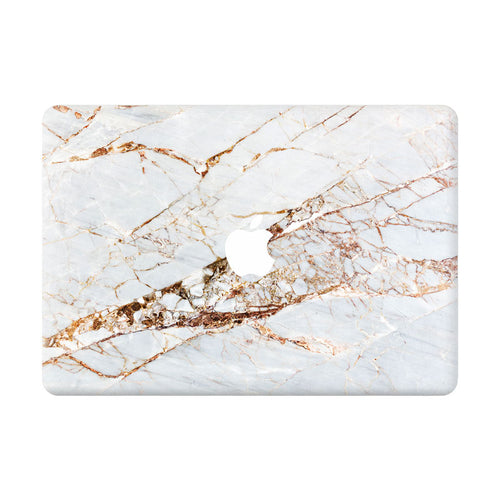 Italian Gold Marble MacBook Skin - Coco and Toffee