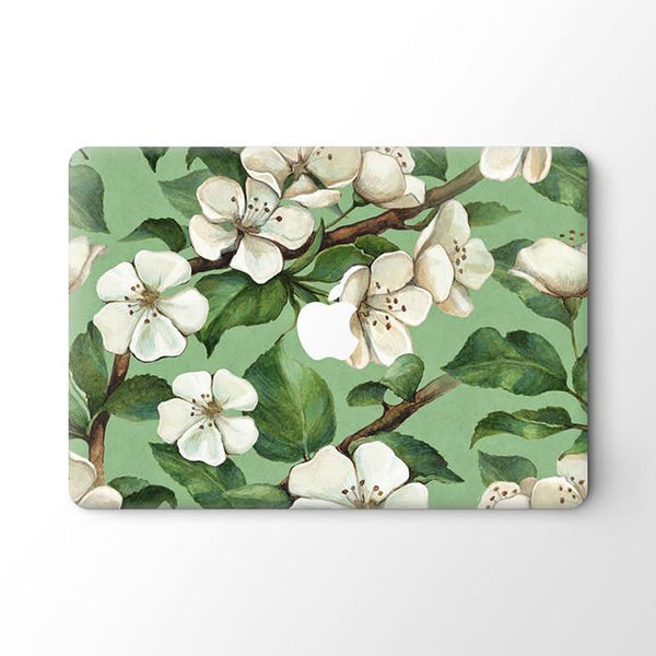 Lilies MacBook Skin - Coco and Toffee
