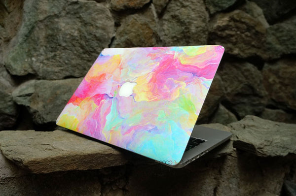 Pastel Bomb MacBook Skin - Coco and Toffee