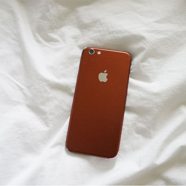Full-Body Wrap Skins for iPhone - Coffee