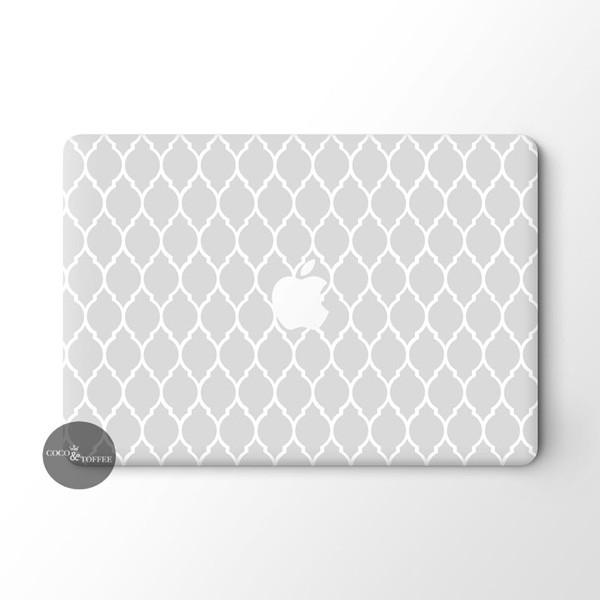 Imperial Trellis MacBook Skin - Coco and Toffee