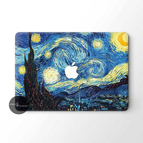 The Starry Night MacBook Skin - Coco and Toffee