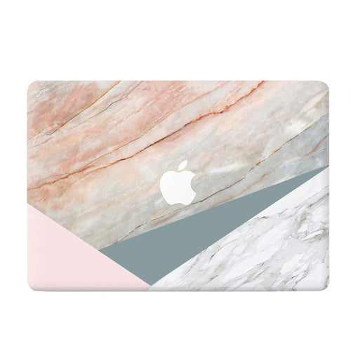 Vanilla Manila Marble MacBook Skin - Coco and Toffee