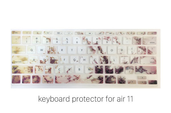 Marble Gold Keyboard Protector