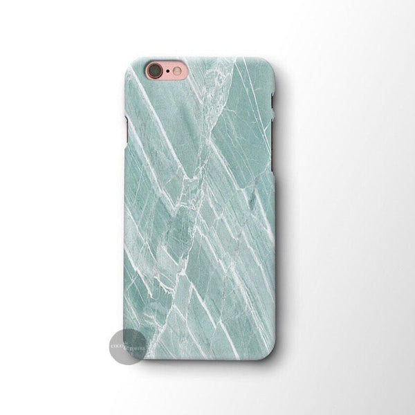Minty Marble iPhone Skin