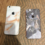 Peach Marble iPhone Skin - Coco and Toffee
