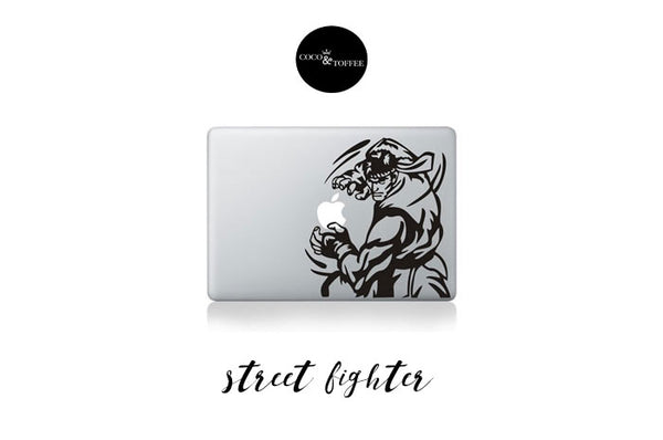 Ryu Street Fighter Decal Coco And Toffee