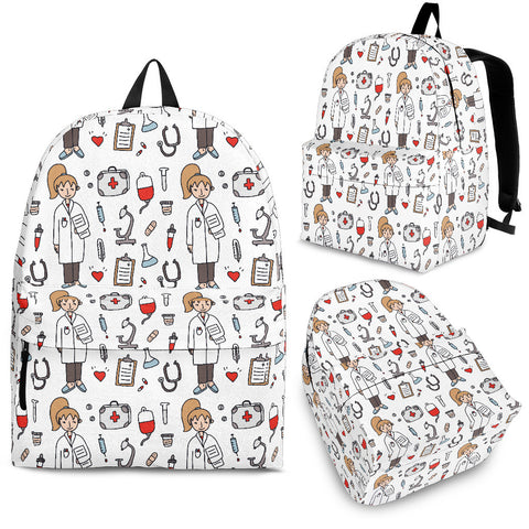 White Nurse Backpack