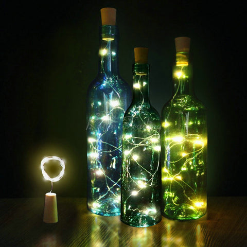 Xmas LED lamp Cork for Bottles