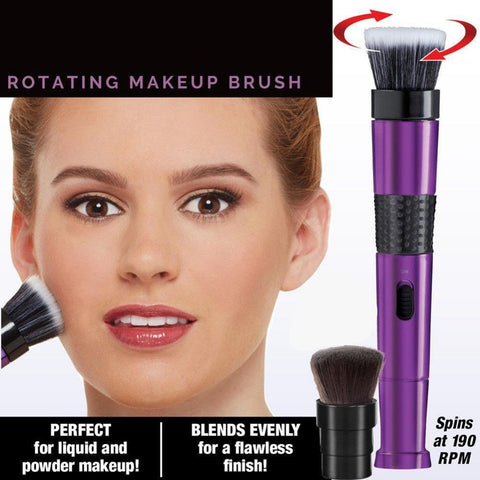 Revolutionary Rotating Makeup Brush