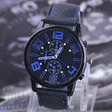 Racing Style Sports Watch
