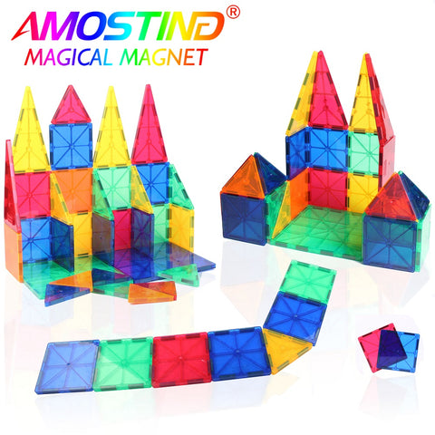 32PCS RAINBOW MAGNETIC BUILDING BLOCKS SET FOR EDUCATIONAL CONSTRUCTION