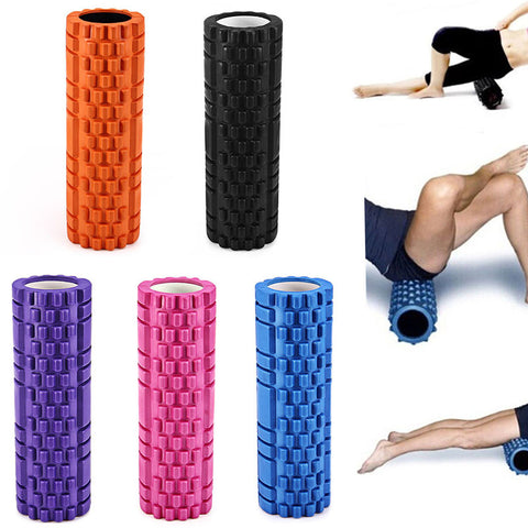 High Density Yoga Foam Roller for Physio Massage Pilates and Tight Muscles