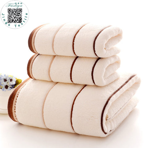 3pcs/set High Quanlity Cotton Towel Set