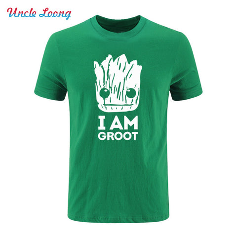 Mens Guardians of the Galaxy I Am Groot T-Shirt