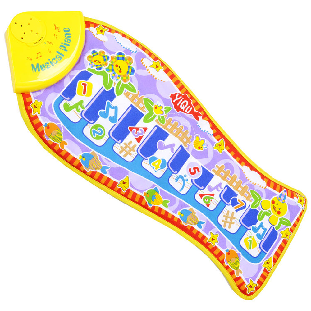 Singing Electronic Piano Fish Designed Baby Play Mat