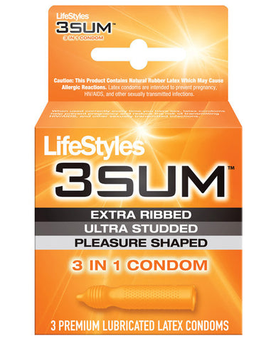 Lifestyles 3sum - Box Of 3