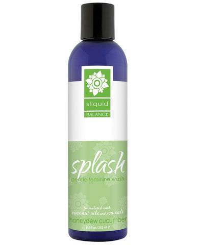 Sliquid Splash Feminine Wash - 8.5 Oz Honeydew Cucumber