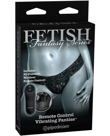 Fetish Fantasy Limited Edition Remote Control Vibrating Panties - Regular