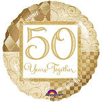 50 Years Together - Foil Balloon