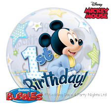 Bubble - Mickey Mouse 1st Birthday