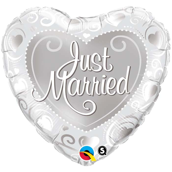 Just Married - Foil Balloon