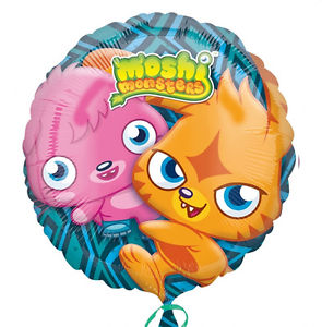 Foil Balloon - Moshi Monsters