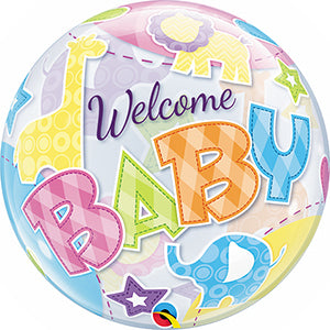 Bubble Balloon - Welcome BABY