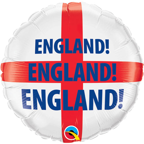 England Flag - Foil Balloon