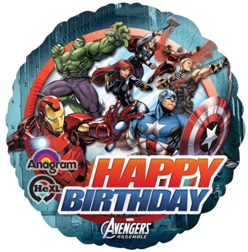 Avengers Happy Birthday - Foil Balloon