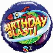 Birthday Blast! - Foil Balloon