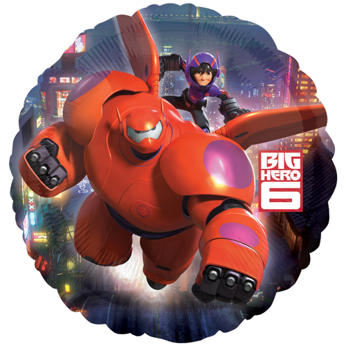 Foil Balloon - Big Hero 6