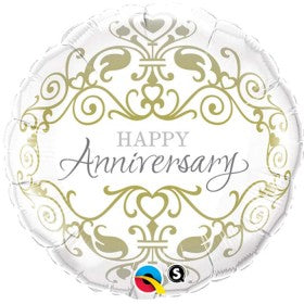 Happy Anniversary  - Foil Balloon