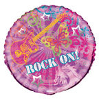 Rock On - Foil Balloon