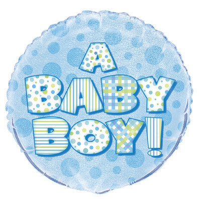 Foil Balloon - 'A Baby Boy!'